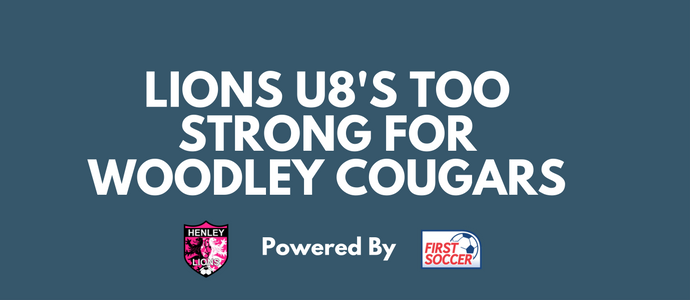Lions U8's Too Strong For Woodley Cougars