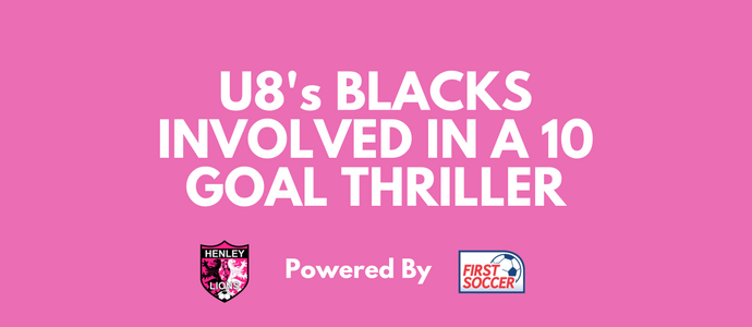 U8's BLACKS INVOLVED IN A 10 GOAL THRILLER